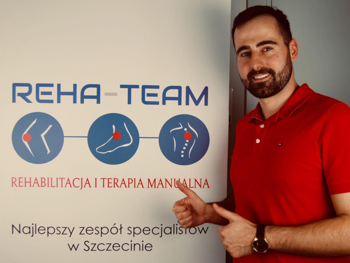 Miłosz Parchimowicz - mgr fizjoterapii