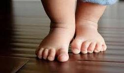 stopy dziecka